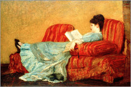 Mary Stevenson Cassatt - Young Lady Reading