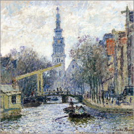 Claude Monet - Kanal in Amsterdam