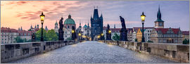 Jan Christopher Becke - Karlsbrücke Panorama in Prag