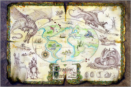 Dragon Chronicles - Karte der Drachen