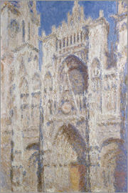 Claude Monet - Kathedrale am Nachmittag