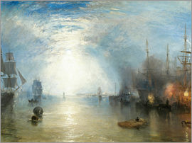 Joseph Mallord William Turner - Keelmen Wurf In Kohlen Durch Mondschein
