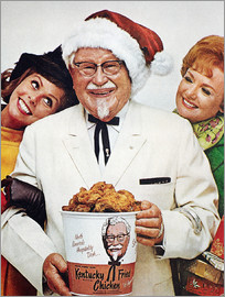 Kentucky Fried Chicken Ad.