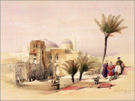 David Roberts - Church of the Holy Sepulchre in Jerusalem