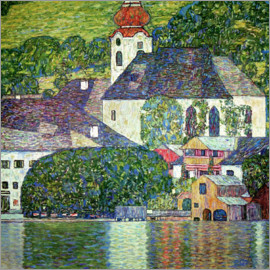 Gustav Klimt - Church in Unterach, Attersee