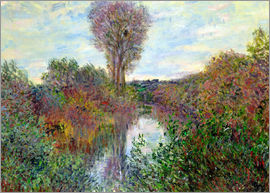 Claude Monet - Small Arm of the Seine