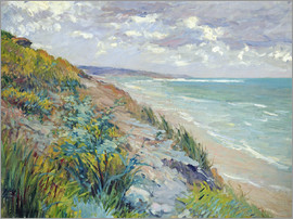 Gustave Caillebotte - Klippen am Meer in Trouville