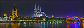 Fine Art Images - Köln Skyline @ night