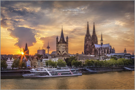 Jens Korte - Cologne Cathedral and Great St Martin