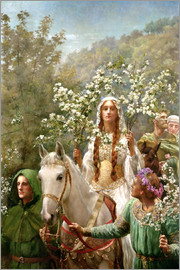 John Collier - Königin Guinevere