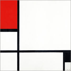 Piet Mondrian - Komposition 1929.