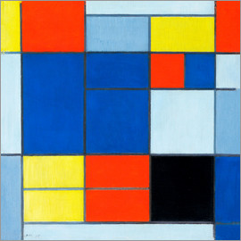 Piet Mondrian - Komposition c