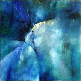 Annette Schmucker - Komposition in blau