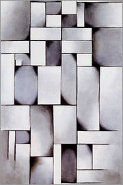 Theo van Doesburg - Komposition in Grau (Rag-time)