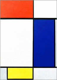 Piet Mondrian - Composition w. red, yellow, blue