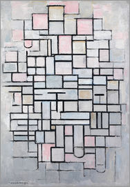 Piet Mondrian - Composition No. IV.
