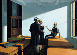 Edward Hopper - Konferenz in der Nacht