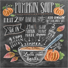 Lily & Val - Pumpkin soup recipe
