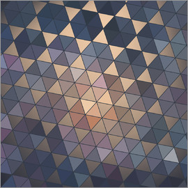 copper-colored mosaics