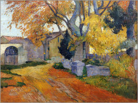 Paul Gauguin - L'Allee des Alyscamps