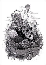 Mat Miller - Land of the Sleeping Giant (Ink)