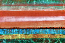 Paul Klee - Layered Landschaft