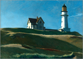 Edward Hopper -  Lighthouse Hill