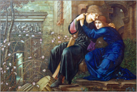 Edward Burne-Jones - Liebe in den Ruinen