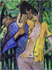 Otto Mueller - Loving couple. 1919