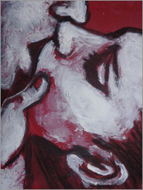 Carmen Tyrrell - Lovers - Kiss In Red