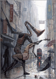 Adrian Borda - Life is a dance in the rain