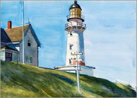 Edward Hopper - Light at Two Lights