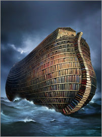 Smetek - Literary ark, conceptual artwork