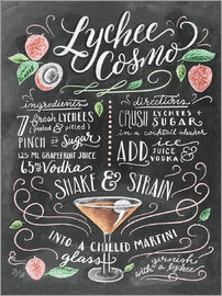 Lily & Val - Lychee Cosmo recipe