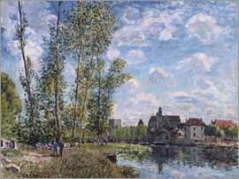 Alfred Sisley - Loing in Moret im Mai