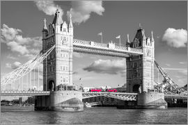 rclassen - London, Tower Bridge Schwarz Weiss