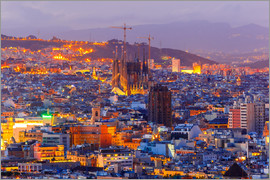 Aerial view Barcelona