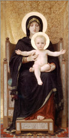 William Adolphe Bouguereau - Madonna mit Kind
