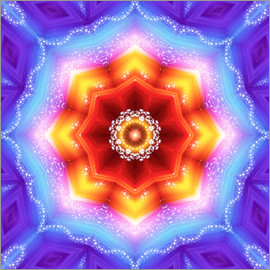 Dolphins DreamDesign - Mandala - Mutter Erde