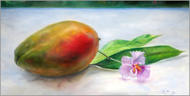Jonathan Guy-Gladding - Mango mit Orchidee