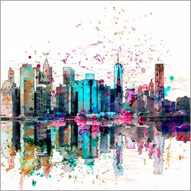 Andrea Haase - Manhattan Skyline