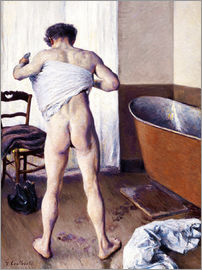 Gustave Caillebotte - Uomo in bagno