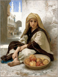 William Adolphe Bouguereau - Marchande de grenades