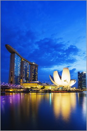 Christian Kober - Marina Bay Sands Hotel and Arts Science Museum, Singapore, Southeast Asia, Asia