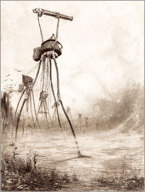 Henrique Alvim Correa - Marsianer in einer Linie