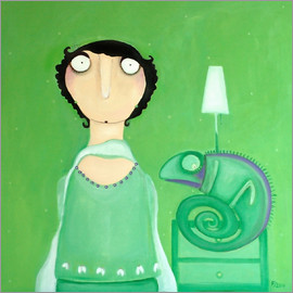Theresa Franziska Jänisch - Mathilda Mayer - Gramke with new Chameleon Lamp