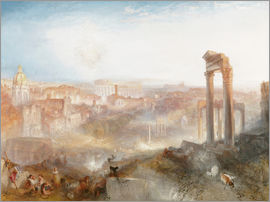 Joseph Mallord William Turner - Modernes Rom