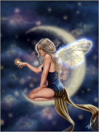 Tiffany Toland-Scott - Moon Fairy - Firefly Moon