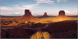 Michael Rucker - Monument  Valley Licht