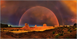 Michael Rucker - Monument  Valley Regenbogen
